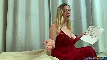 Озорная молодая блондиночка занимается порно со своим бойфрендом