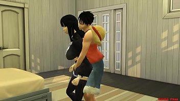 Влюбленная японская пара браво ебется в отеле